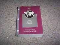 1997 Ford Escort Original Shop Service Repair Technical Manual LX Wagon 2.0L