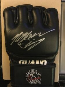 Nate Diaz Signed Ouano Glove MMA UFC STRIKEFORCE