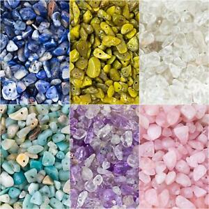 Chip Nugget Gemstone Beads. 40g Pack (Approx 100 Beads). 5-8mm. 1mm Hole