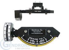 GRADE-TO-1 SLOPE METER INDICATOR,INCLINOMETER,DOZER GRADER,CATERPILLAR,DEERE