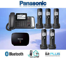 PANASONIC KX-TG9582B 2-LINE LINK2CELL 1 CORDED PHONE 5 CORDLESS 1 REPEATER