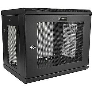 9U Wall Mount Rack Wall Mount Server And Network Cabinet-17In
