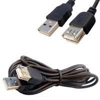5m USB 2.0 EXTENSION Lead A Male To A Female SHIELDED Cable