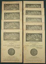 L'ASTRONOMIE : BULLETIN DE LA SAF - 1938 - 9 N°- COMETE TELESCOPE METEOROLOGIE..