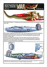 Kits World Decals 1/72 CONSOLIDATED B-24J LIBERATOR The Dragon and his Tail