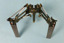 """Twin Rudder with Strut for 1/4"""" 6.35mm shaft Rc Boat"""