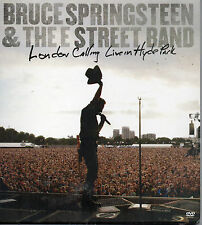 BRUCE SPRINGSTEEN & THE STREET BAND London Calling: Live In Hyde Park 2XDVD 2010