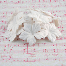 White Mulberry Paper Blooms Card Making Craft Embellishment Flowers Pbw015