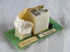 NEW ~ MIDTEX / AEMCO ~ RELAY WITH CARD ~  PART # 430-8637 ~ 158-22F200 10A 28 V