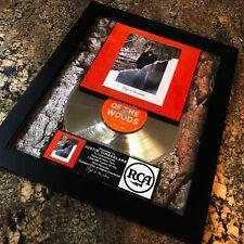 Justin Timberlake Man Of The Woods Silver Record Music Award Album Disc Nsync
