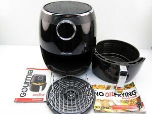Gourmia GAF575 5 Qt Digital Air Fryer BONUS 2 TIER RACK 4.7L 1232432