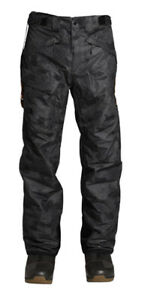 The North Face Mens Snow Freedom Insulated Pant - Black Tonal Duck Camo SZ XL.✨