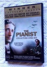 THE PIANIST (DVD, COLLECTORS 2-DISC SET) REGION-4, LIKE NEW, FREE SHIPPING