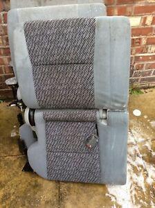 1994-1997 MAZDA BONGO PASSENGER SIDE REAR FOLDING SEAT x 2 brackets and belts