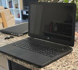 HP 15 Notebook PC 15 AMD A6-5200 APU with Radeon(TM) HD Graphics, 200Mhz. 4.00GB