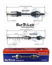For BMW X5 2000-2006 AWD Pair of 2 Front CV Joint Axle Shafts SurTrack Set