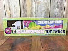 "NEW 7 Eleven Slurpee 15"" Collectible Tractor Trailer Truck Slurpee PlaySet 1999"