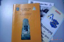 Crónica de 825 años en prados Erzgebirge-Dr. siegfreid Sieber/incl. programa fijo