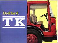 Bedford TK Rigid Tractor Tipper Trucks 1963 original UK Brochure No. B.965