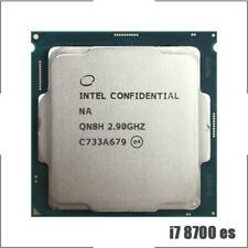 Intel Core i7-8700 es QN8H 2.9 GHz Six-Core CPU Processor 12M 65W LGA 1151
