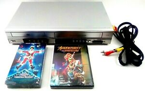 LG VCR DVD Combo LVC-737 4HD Hifi Stereo 3D Surround Sound w/ Cable,Movie Tested