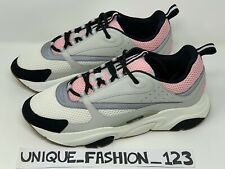 CHRISTIAN DIOR B22 RUNNERS GREY PALE PINK US 7 UK 6 EU 40 SNEAKERS TRAINERS WHIT