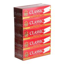 3x Boxes Classic Full Flavor Red KING SIZE ( 600 Tubes ) Cigarette Tube Tobacco