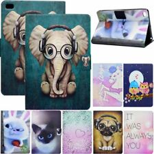 Slim Animals Patterned Leather Case Cover For Apple iPad & Samsung Galaxy Tablet