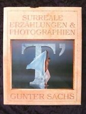 GUNTER SACHS: Rare SIGNED Photography Book T' SURREALE Bridgette Bardot, Playboy