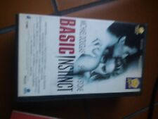 VHS BASIC INSTINCT SHARON STONE M. DOUGLAS PENTA VIDEO PEPITE