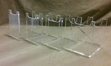 TWELVE  Clear Acrylic Blade Runner Blaster Pistol Gun Movie Prop Display Stands