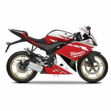 Red/White - Replica Fairing Kit with Decal Stickers For Yamaha YZF-R 125 14-17