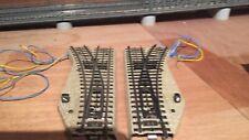 Marklin voie M 5202 paire d'aiguillages électromagnétiques