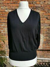 Size 22 Black V Neck Sweater Jumper, Marks And Spencer