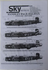 Skymodels 1/72 72025  Handley Page Halifax decal set