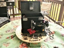 SALE!!! 1952 SINGER FEATHERWEIGHT 221 Sewing Machine, Case and accessories