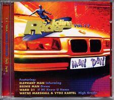 Ragga Reggae Various Artists Riddim Rider May Day Sizzla Ward 21 Sealed 2 Discs