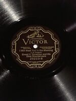 78 RPM Victor Record 20223 Ernest Stoneman & Dixie Mountaineers In the Golden E-