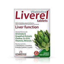 Vitabiotics Liverel (60 Tablets) Vitamina Compresse Fegato Salute