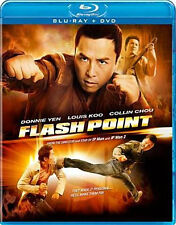 FLASH POINT (Lui Leung Wai) - BLU RAY - Region Free - Sealed