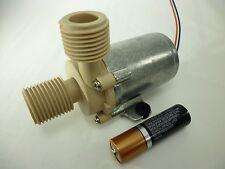 Brushless Inline Only Hi Temp Centrifugal Water Fluid Pump 24 VDC 100 GPH Alum