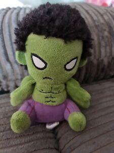 Mopeez Novelty Marvel The Hulk Miniature Plush Kids Toy 5 Inches Tall Age 3+