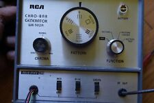 Vintage Rca Chro-Bar Generator Model Wr-502A W/ All test leads and power supply