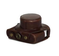 Bolso de cámara Estuche para Leica D-LUX Tipo 109 Funda De Cuero Artificial