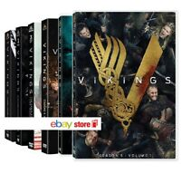 VIKINGS - SERIE TV COMPLETA 01 - 05 [parte 1] (18 DVD + Gadget) SERIE TV WARNER