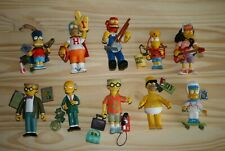 THE SIMPSONS World of Springfield Lot of 10 Loose figures with accessories