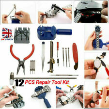WATCH REPAIR KIT Watchmaker Tool Case Opener Remover Spring Pin Battery Strap