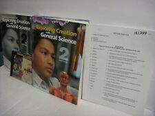 4 pc. APOLOGIA EXPLORING CREATION W/GENERAL SCIENCE- 2ND ED. BOOK,SOL,TEST,AUDIO