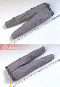 "1/6  Male Gray Tactical Pants & Belt Fit 12""PH HT Action Figure Body"