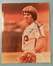 REDUCED! Pete Rose Signed Autographed Photo Color 8x10 Phillies
